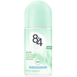 8x4 Deoroller 50ml Pure